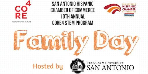 2019 CORE4 STEM Family Day at Texas A&M University-San Antonio