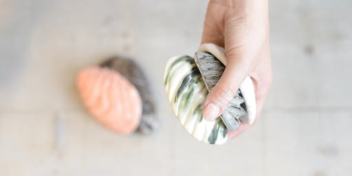 Oyster Shell Ring Dish Workshop