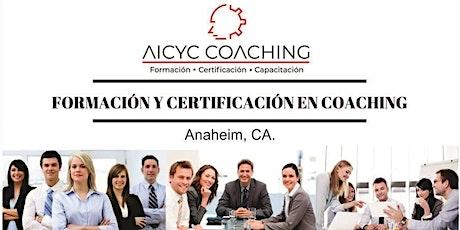 Formacion y Certificacion como Coach Profesional (Anaheim, CA) tickets