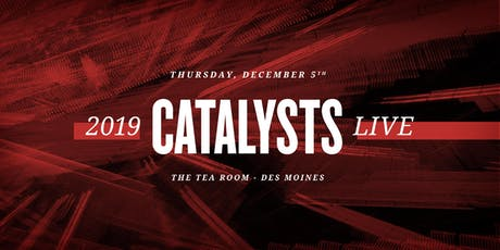 Catalysts Live tickets