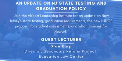 An Update on NJ State Testing and Graduation Policy