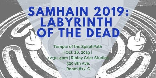 Temple of the Spiral Path's Samhain Ritual - Labyrinth of the Dead
