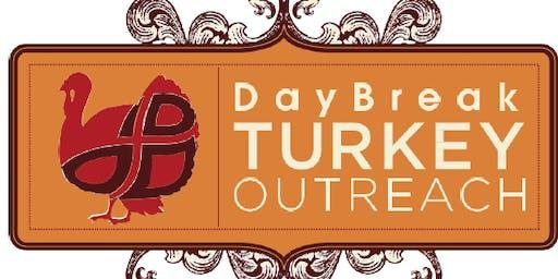 DayBreak Turkey Outreach 2019