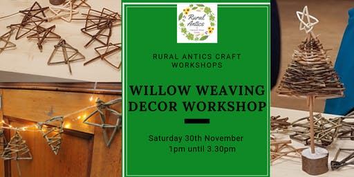 Festive Willow Weaving Decorations