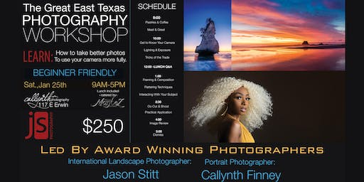 Great ETX Photography Workshop January 2020