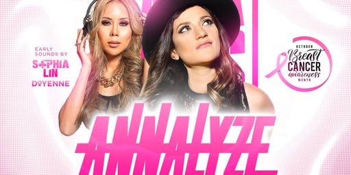 Sexy Saturday with DJ ANNALYZE & DJ SOPHIA LIN | Sevilla Long Beach