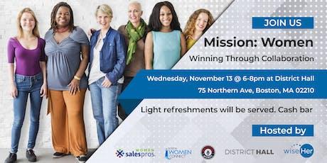 Mission: Women -- Winning through collaboration tickets