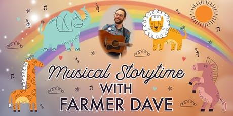 Musical Storytime with Farmer Dave tickets