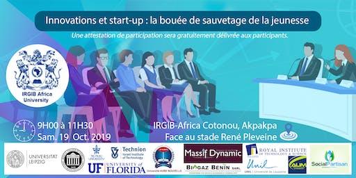 Innovations et start-up : la bouée de sauvetage de la jeunesse