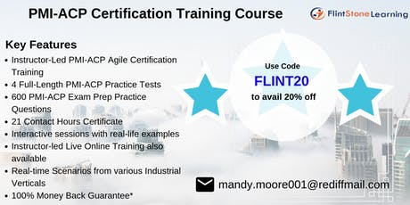 PMI-ACP Bootcamp Training in Allison, CO tickets