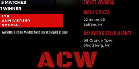 ACW Live Presents:  Colosseum Collision anniversary  event tickets