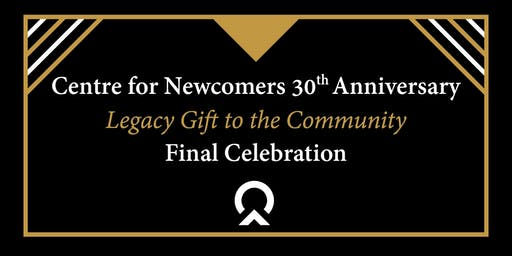 30th Anniversary  Legacy Gift to the Community