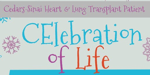 2019 Cedars-Sinai Heart & Lung Transplant Patient Holiday Party