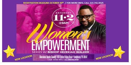 Bishop Hezekiah Walker WOMEN'S EMPOWERMENT Series 11.2.19 tickets
