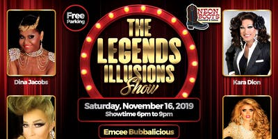 """""""THE SPECTACULAR LEGENDS ILLUSIONS SHOW"""", Saturday, November 16th!"""