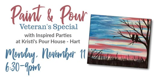 Paint & Pour - Veteran's Special