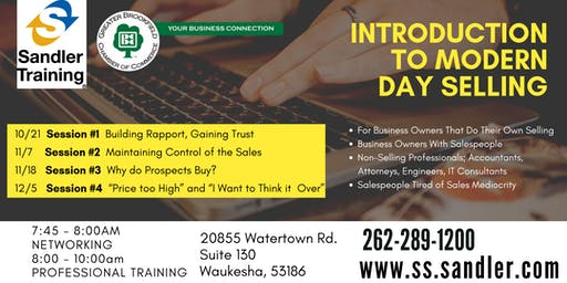 Introduction to Modern Day Selling Series - Building Rapport, Gaining Trust