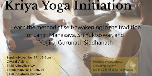 Kriya Yoga Initiation-Siddhanath Yoga Sangha