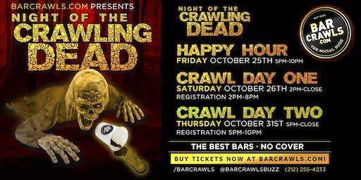 Seattle Halloween Day Bar Crawl Day 2