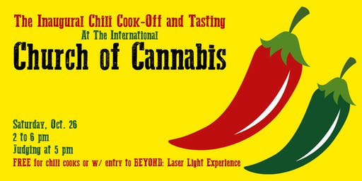 The Int'l Church of Cannabis Inaugural Chili Cook-off