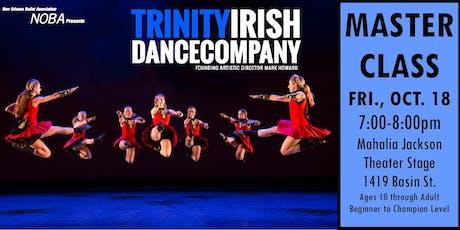 Irish Dance Master Class led by Artists from Trinity Irish Dance Company  tickets