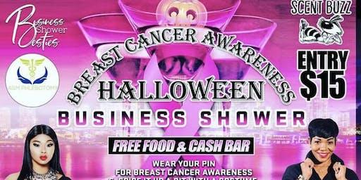 Breast Cancer Awareness Halloween Business Shower