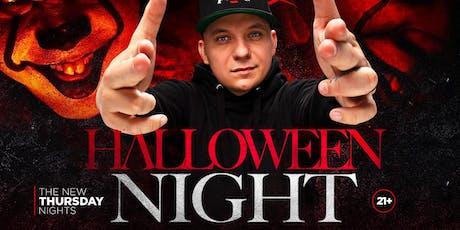 HALLOWEEN PARTY this Thursday Night w/ DJ BOOTLEG KEV- SEVILLA LONG BEACH tickets