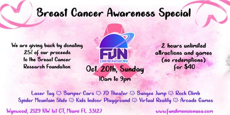 FunDimension Breast Cancer Awareness Special tickets