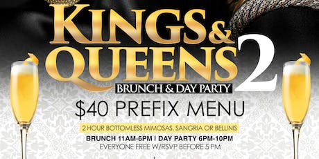Kings And Queens Part 2 Brunch & Day Party  tickets