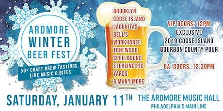 Ardmore Winter Beer Festival tickets