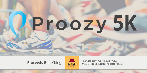 PROOZY - 5K and Tent Sale