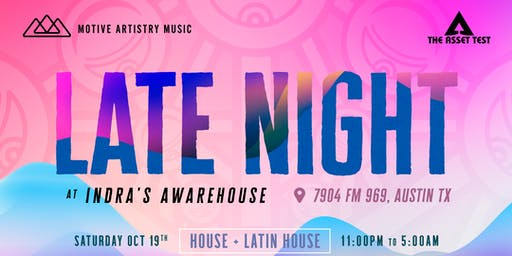 Late Night at Indra's Awarehouse