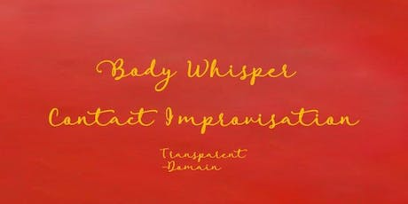 Body Whispers: a Workshop in Contact Improvisation tickets