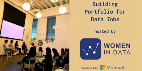 Building Portfolio for Data jobs hosted by Women in Data tickets