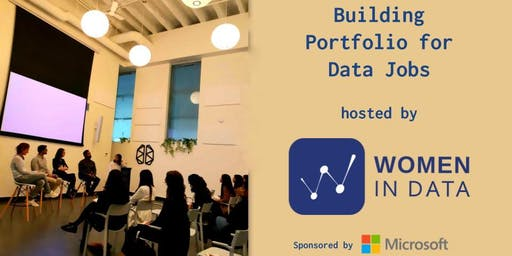 Building Portfolio for Data jobs hosted by Women in Data