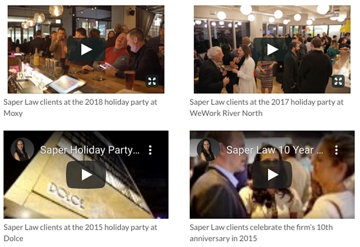 Saper Law's 2019 Holiday Party image