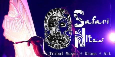 Safari Nites - Drum Class/Jam, ART and Ecstatic Dance Circle tickets