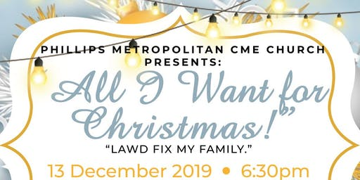 Phillips Metropolitan-All I Want for Christmas