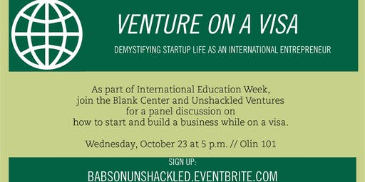 Venture On a Visa: Demystifying Startup Life as an Intl Entrepreneur