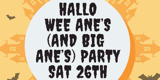 Hallo wee ane's party