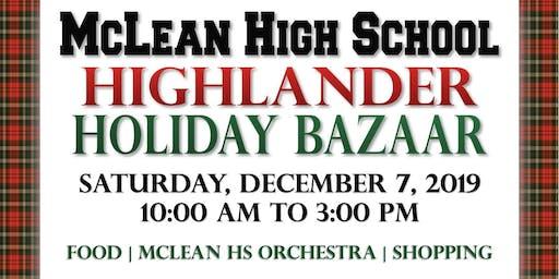 McLean High School Holiday Bazaar