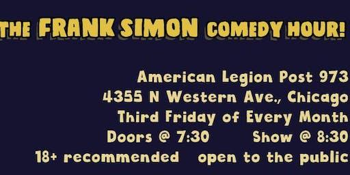 Frank Simon Comedy Hour at the Tattler Post, American Legion