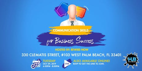 COMMUNICATION SKILLS FOR BUSINESS SUCCESS tickets