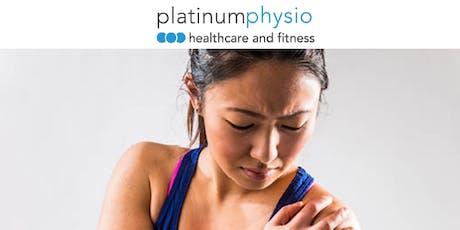 Platinum Physio x Tania Pizzari - Subacromial Pain Syndrome tickets