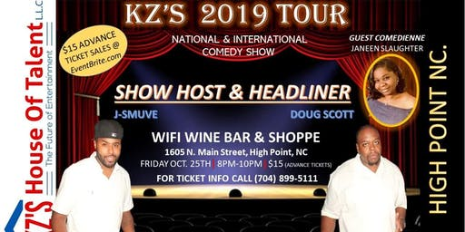 Kz's Comedy Tour, High Point NC