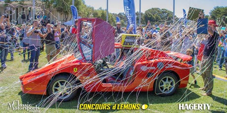Concours d'Lemons California 2020 tickets