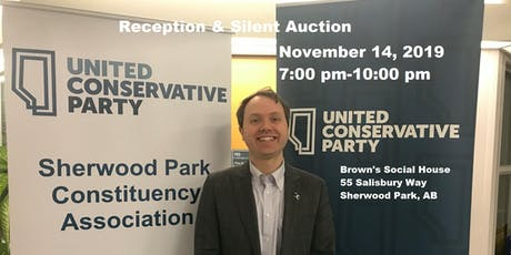 Sherwood Park UCP Association Reception and Silent Auction tickets