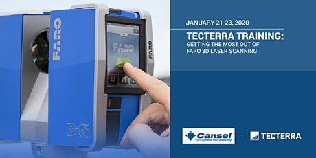 TECTERRA TRAINING: Getting the most out of Faro 3D laser scanning tickets