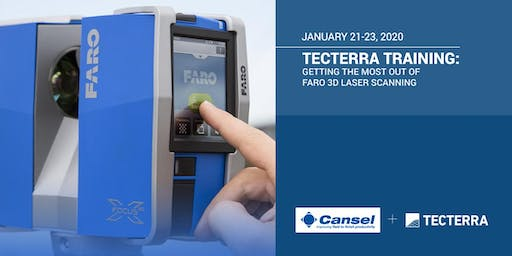 TECTERRA TRAINING: Getting the most out of Faro 3D laser scanning