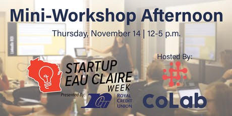 Startup Mini Workshop Afternoon tickets